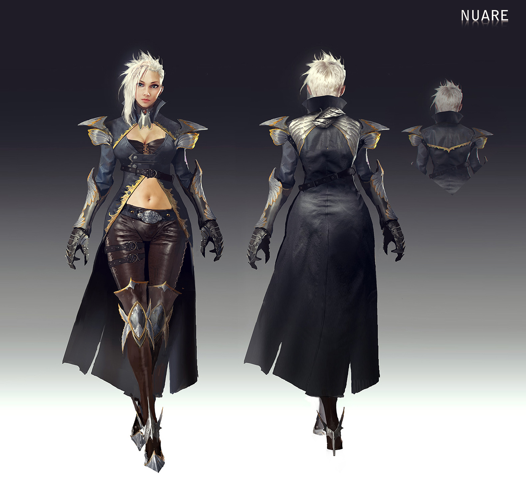 Character Design For Games Book : Characters album nuare studio