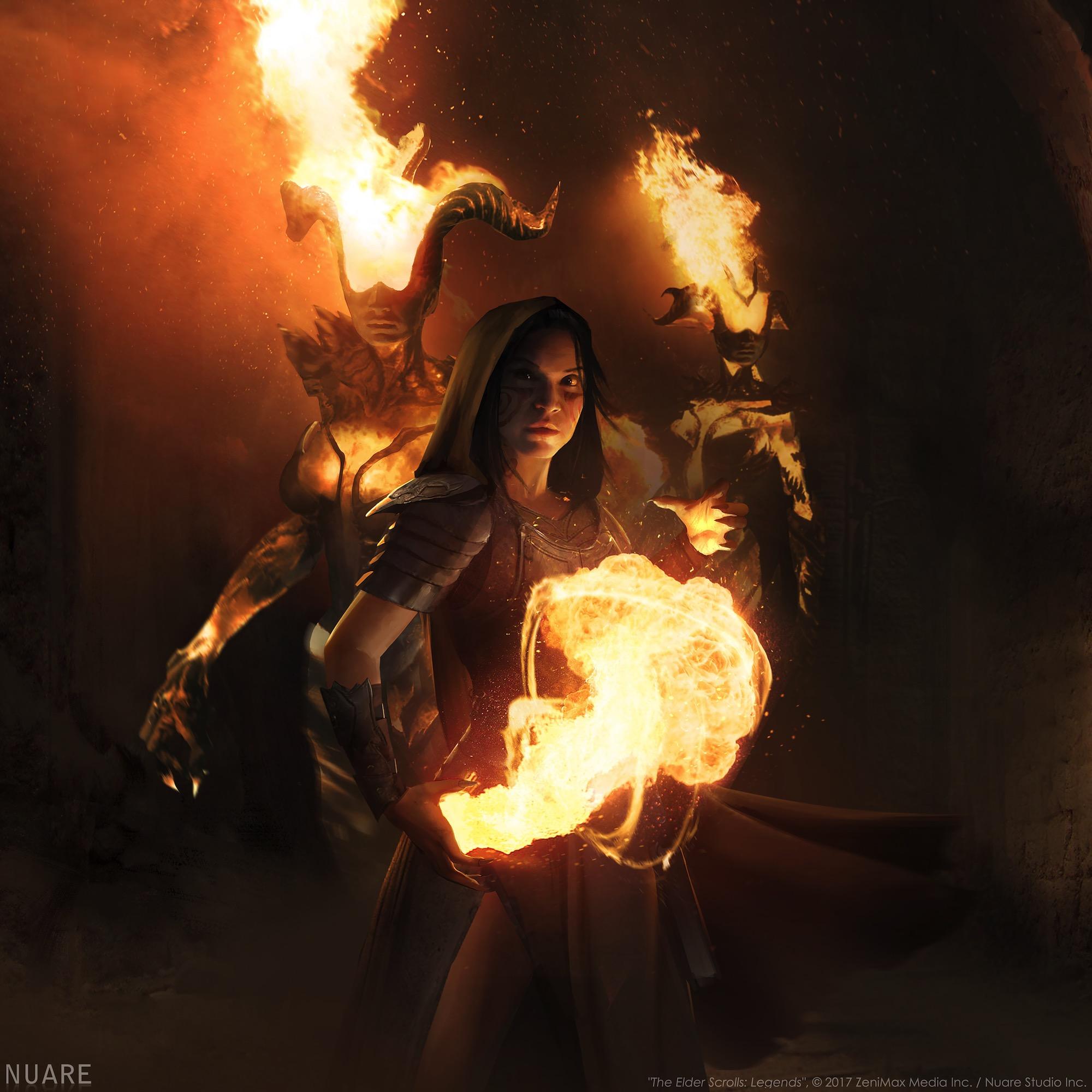 """""""The Elder Scrolls: Legends"""", © 2017 ZeniMax Media Inc. / Nuare Studio Inc."""